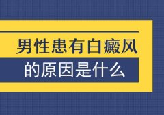 云南白癜风医院可选护国路:男人容易得白癜风是因为什么